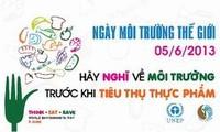 Vietnam responds to World Environment Day 2013