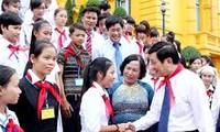 President sent a letter to children on Mid-autumn festival