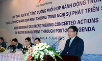 Vietnam commits to international cooperation in managing water resource