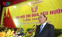 Deputy Prime Minister Nguyen Xuan Phuc attends patriotic emulation congress in Thai Binh province