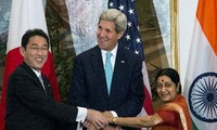 Japan, US, India share concern over China's maritime activity