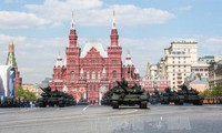 Military Parade on Moscow's Red Square