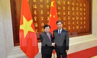 Deputy Prime Minister Trinh Dinh Dung meets Chinese counterpart