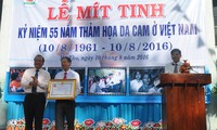 55th anniversary of Agent Orange/ dioxin catastrophe in Vietnam marked