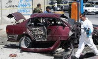 At least 3 wounded in bombing near US embassy in Afghanistan