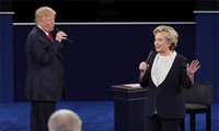 Hillary Clinton and Donald Trump face off in second presidential debate