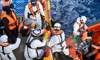1,400 migrants rescued at Mediterranean sea