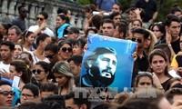 Cuba say farewell to Fidel Castro