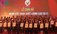High-quality Vietnamese goods announced