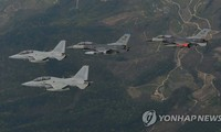 South Korean, US air forces hold joint exercise