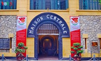 "Exhibit  ""Steel in Prison"" at Hoa Lo Prison Museum"
