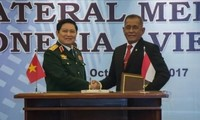 Vietnam, Indonesia sign declaration on defense cooperation joint vision