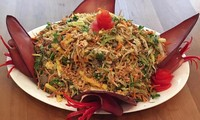 Banana flower salad by Vietnamese Canadian cook Diep To