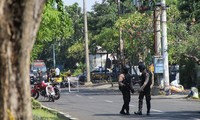 Bomb explosion hits police station in East Java, Indonesia