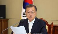 South Korean President leaves for US
