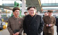 North Korean leader inspects island areas near China