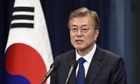 South Korea seeks 'irreversible' peace on Korean Peninsula