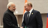 Russian President visits in India