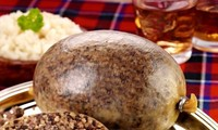 Haggis, Scotland's national dish