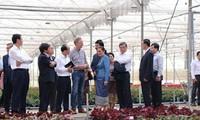 Lao NA delegation visits Lam Dong province