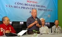 Trao giải thưởng văn hóa Phan Châu Trinh