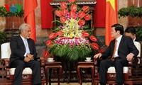Chủ tịch nước Trương Tấn Sang tiếp Thủ tướng Timor Leste Kay Rala Xanana Gusmão