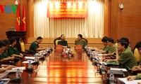 Tăng cường phối hợp giữa Bộ Công an và Bộ Quốc phòng về đảm bảo an ninh trật tự