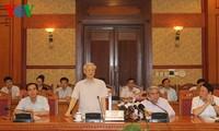 Tổng Bí thư Nguyễn Phú Trọng làm việc với Thường trực Hội đồng Lý luận Trung ương