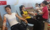"""Hàng nghìn người tham gia Hành trình Đỏ và Ngày hội hiến máu """"Giọt hồng tri ân- 2014"""""""