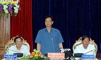 Thủ tướng Nguyễn Tấn Dũng làm việc với tỉnh Quảng Nam