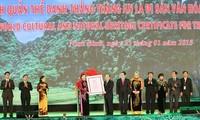 Ninh Bình đón Bằng ghi danh Quần thể danh thắng Tràng An là Di sản văn hóa và Thiên nhiên thế giới
