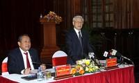 Tổng bí thư Nguyễn Phú Trọng: Tòa án là một thiết chế quan trọng bảo vệ công lý