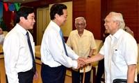 Thủ tướng Nguyễn Tấn Dũng gặp mặt các cơ quan báo chí
