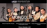 Đoàn dân tộc Mông Cổ Khusugtun lưu diễn tại Việt Nam