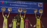 Giao lưu văn hóa sinh viên các nước tại Lào lần thứ nhất