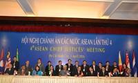 Hội nghị Chánh án các nước ASEAN lần thứ 4 ra tuyên bố chung thành phố Hồ Chí Minh