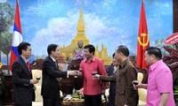Bộ Ngoại giao Việt Nam chúc Tết cổ truyền Bunpimay của Lào