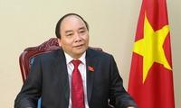 Lãnh đạo các nước chúc mừng Thủ tướng Chính phủ Nguyễn Xuân Phúc