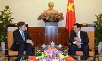 Việt Nam và Hoa Kỳ tăng cường hợp tác, phát triển quan hệ Đối tác toàn diện
