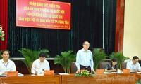 Đoàn Giám sát, kiểm tra của UBTVQH, Hội đồng Bầu cử Quốc gia làm việc với Ủy ban Bầu cử TP Vũng Tàu