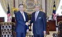 Bộ trưởng Bộ Công an Tô Lâm thăm và làm việc tại Malaysia