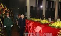 Thủ tướng Lào gửi điện chia buồn về hai vụ tai nạn máy bay SU 30MK2 và CASA 212