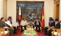 Bộ trưởng Bộ Công an Tô Lâm tiếp Cố vấn An ninh quốc gia Philippines Hermogenes Esperon
