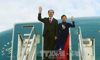 Chủ tịch nước Trần Đại Quang bắt đầu thăm cấp nhà nước Italia