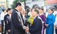 Chủ tịch nước Trần Đại Quang thăm chúc mừng Giáo xứ Chính tòa, Tổng Giáo phận Thành phố Hồ Chí Minh