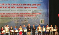 Thúc đẩy các sáng kiến bảo tồn, giáo dục và bảo vệ môi trường vịnh Hạ Long