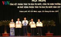 Thành phố Hồ Chí Minh phát động phong trào thi đua yêu nước năm 2017