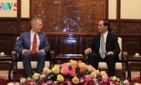 Chủ tịch nước Trần Đại Quang tiếp Đại sứ Hoa Kỳ Ted Osius