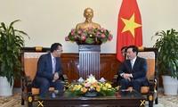 Phó Thủ tướng, Bộ trưởng Ngoại giao Phạm Bình Minh tiếp Đại sứ Vương quốc Maroc