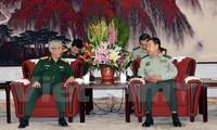 Phó Chủ tịch Quân ủy Trung ương Trung Quốc tiếp Thượng tướng Nguyễn Chí Vịnh